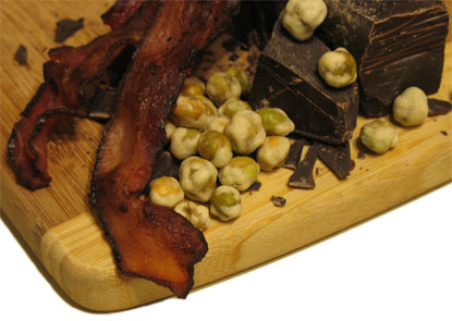 Bacon Chocolate Wasabi Nirvana